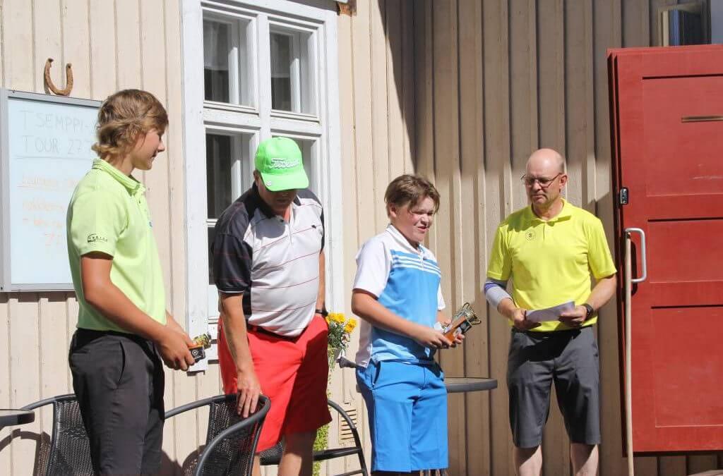 Menestystä juniorien TT5 Loimijoki -osakilpailussa