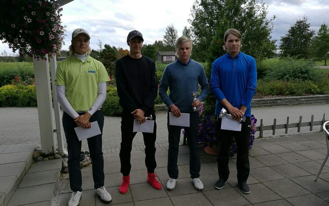 Harjattulan juniorit palkinnoille FJT10 osakilpailussa
