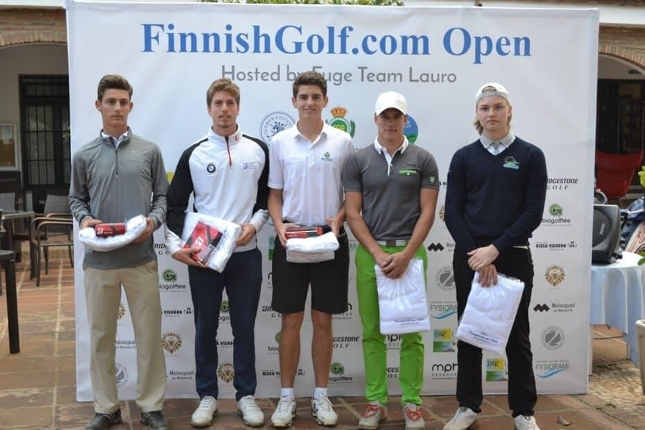 Harjattulan juniorit mukana FinnishGolf.com Openissa